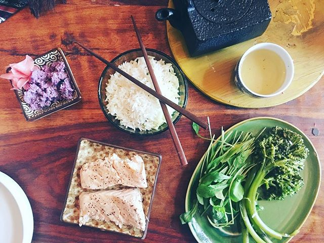 Bamboo steamer upped my breakfast game �
