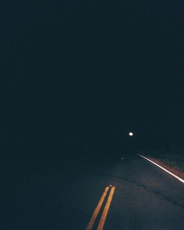 driving towards the moon, driving towar