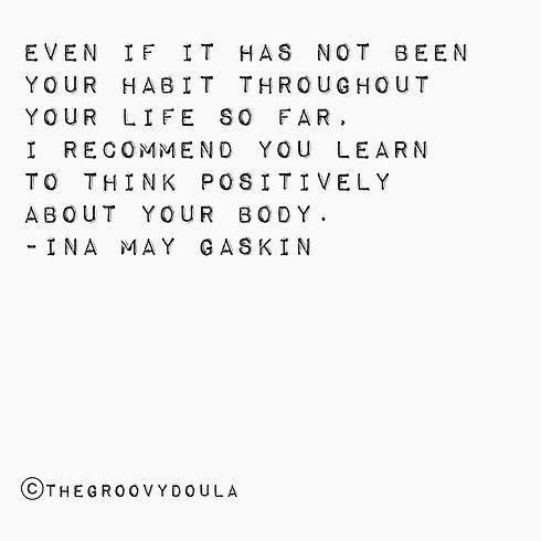 #inamaygaskin #quotes #believeinbirth #w