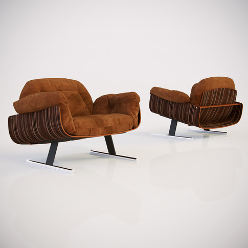Presidencial Lounge Armchair - Jorge Zal