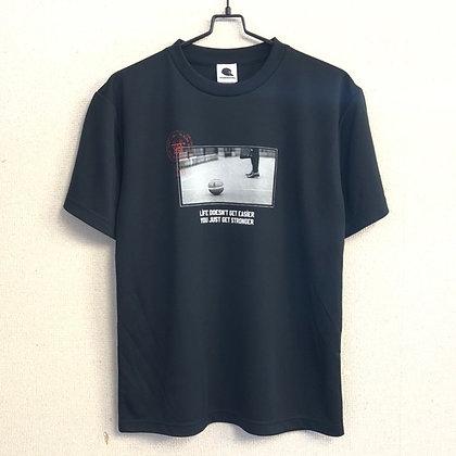 夏 逹維 メッセージTシャツ polyester