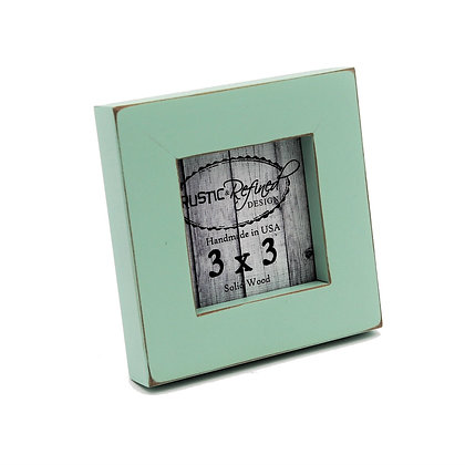 "3x3 1"" Gallery Picture Frame - Sea Foam"