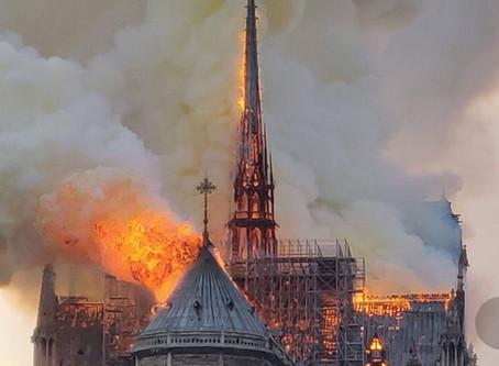 Virtual Visit: Notre-Dame de Paris, Part 3: Fire and Aftermath