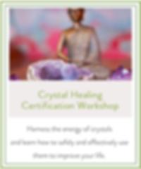Crysta Healing Certification