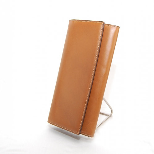 Big wallet with button closure