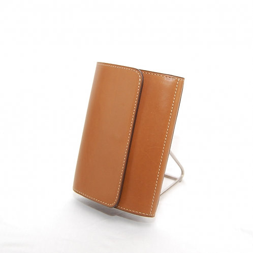 Small wallet with button closure