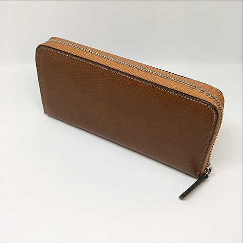 Medium wallet with zip