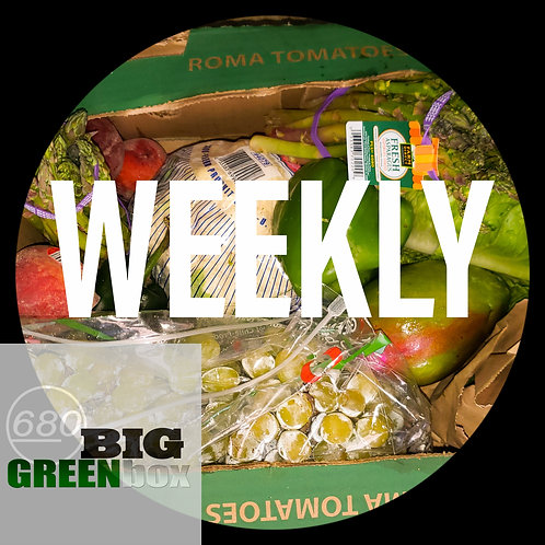 WEEKLY GOODNESS BOX DELIVERY