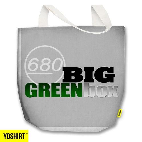 680 BIG GREEN BOX TOTE BAG