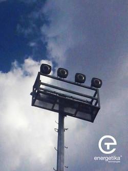 Poste en municipio Chalco