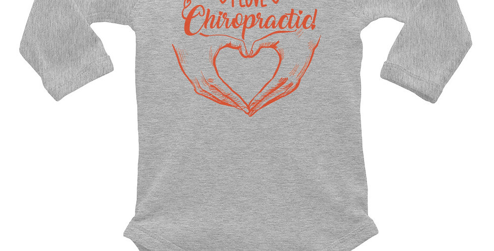 Love Chiropractic Infant Long Sleeve Bodysuit