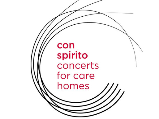 Launching our first concert for care homes!