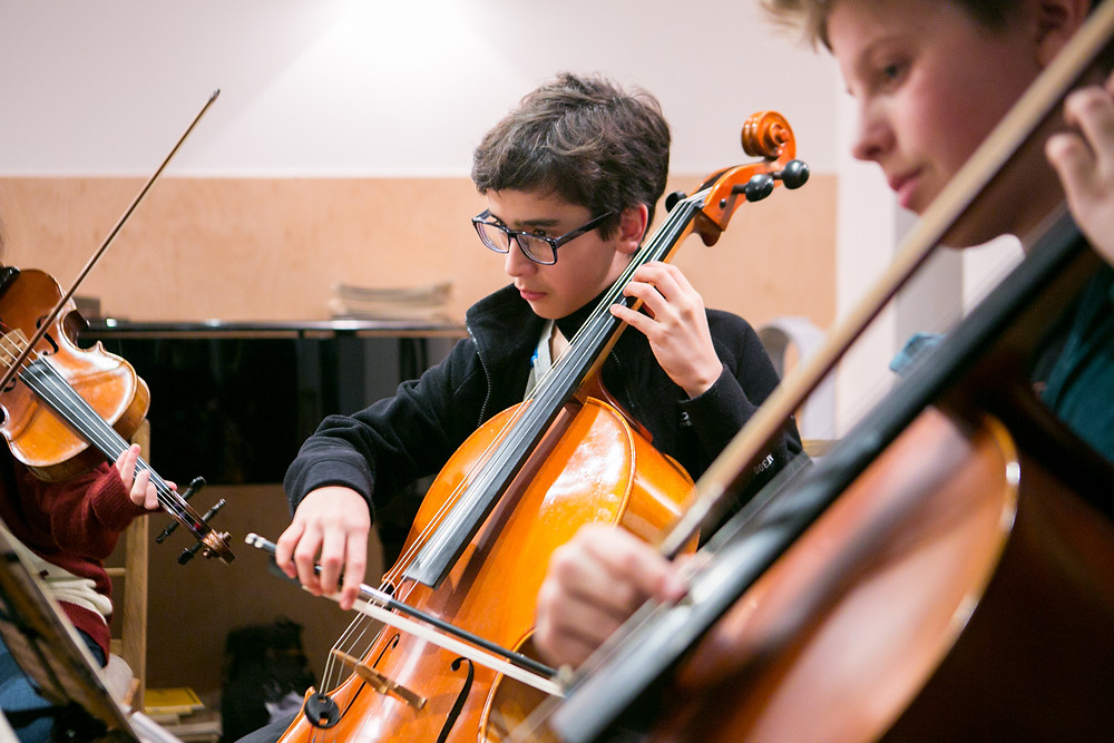 con spirito chamber music classes for kids