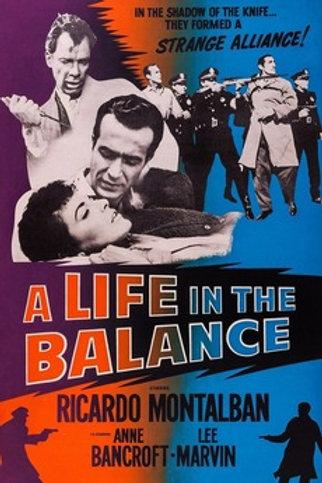 A NOITE CONSPIRA COM A MORTE (A Life in the Balance
