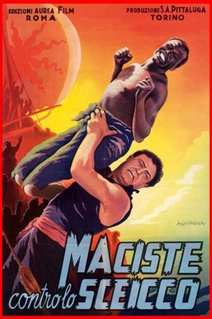 MACISTE CONTRA OS BÁRBAROS (Maciste Contro lo Sceicco, 1962)