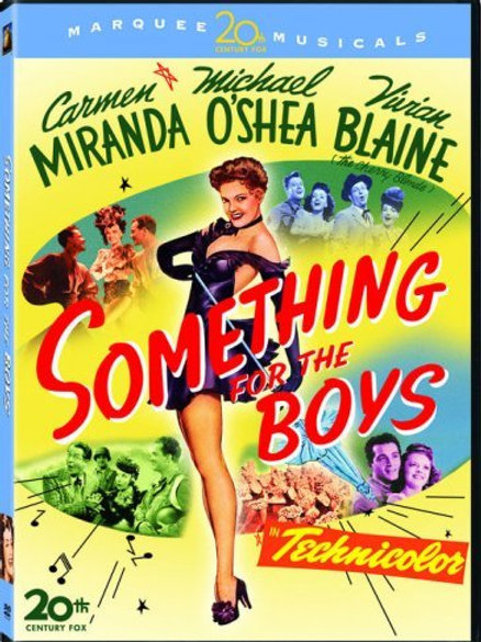 ALEGRIA, RAPAZES! (Something for the boys, 1944)