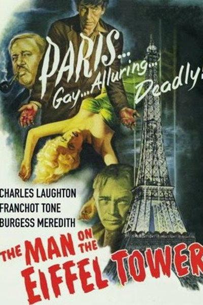 O FUGITIVO DA GUILHOTINA (The Man On The Eiffel Tower, 1950) - DVD Legendado