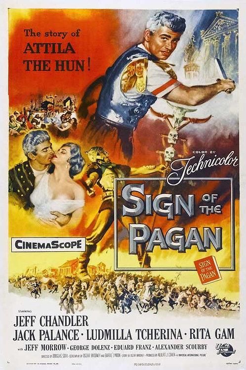 ÁTILA, REI DOS HUNOS (Sign of the Pagan, 1954) - Legendado