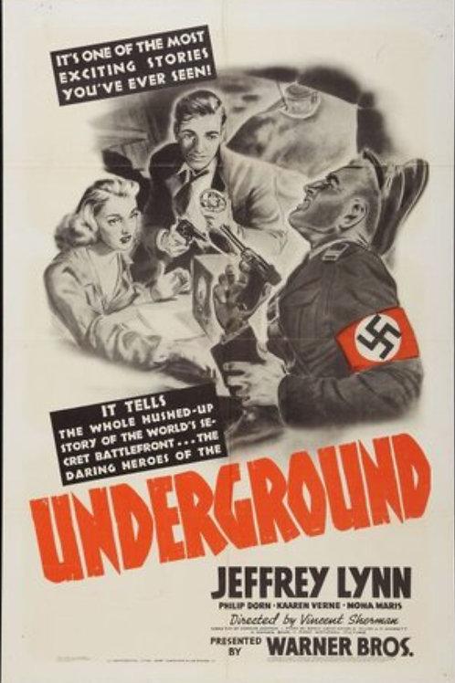 A VOZ DE LIBERDADE (Underground, 1941)