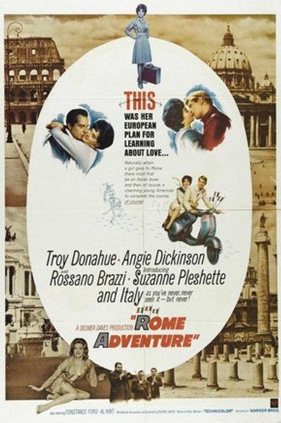 Candelabro Italiano, 1962 (Rome Adventure) -Legendado