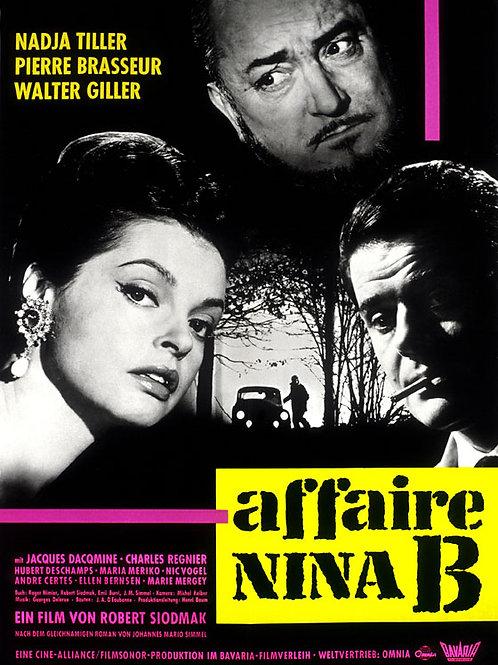 O ADVOGADO DO DIABO (L'Affaire Nina B, 1961)