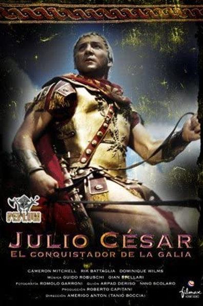JÚLIO CÉSAR, O CONQUISTADOR (Giulio Cesare, il conquistatore delle Gallie, 1962)