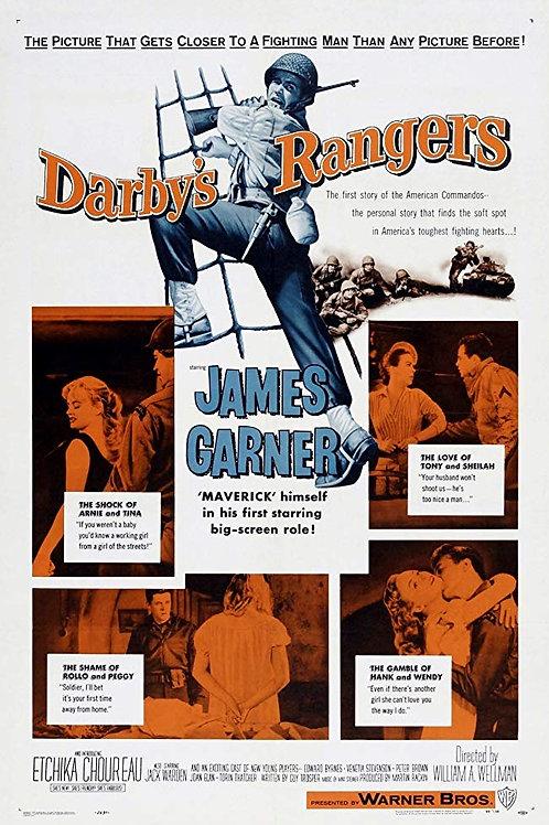 AQUI SÓ CABEM OS BRAVOS (Darby's Rangers, 1958)