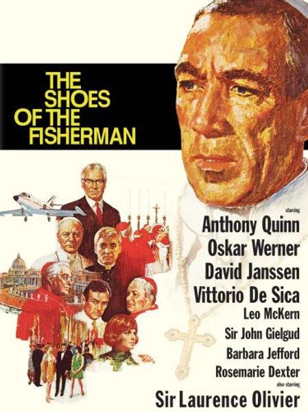 AS SANDÁLIAS DO PESCADOR (The Shoes of the Fisherman, 1968)