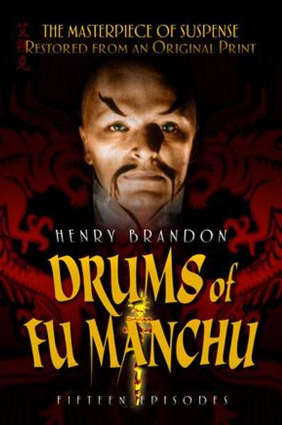 OS TAMBORES DE FU MANCHU ( Drums of Fu Manchu, 1943)