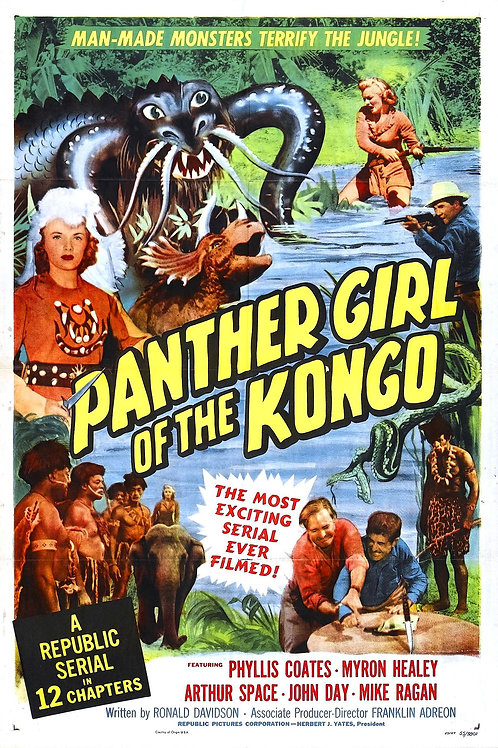 A MULHER PANTERA (Panther Girl of the Congo, 1955)