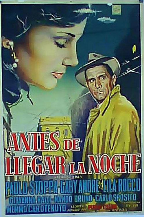 ANTES QUE A NOITE CHEGUE (Prima di Sera, 1954)