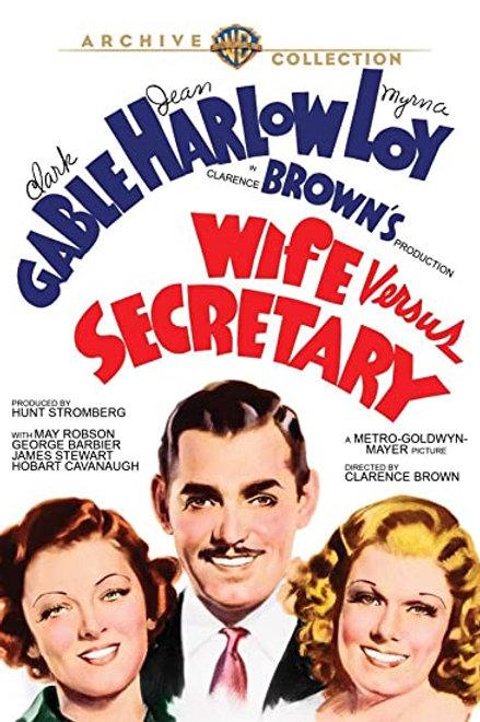 CIÚMES (Wife Vs. Secretary, 1936)