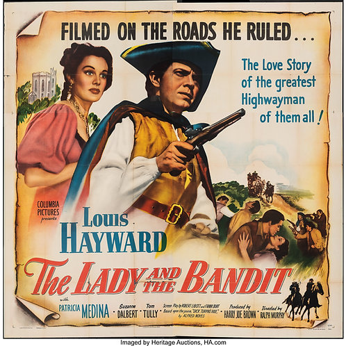 BANDIDO ROMÂNTICO (The Lady and The Bandit, 1951)