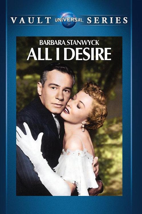 DESEJO ATROZ  (All I Desire, 1953)