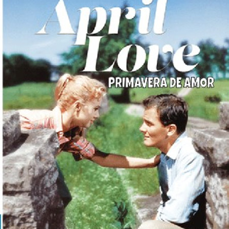 PRIMAVERA DE AMOR (April Love, 1957) Blu-ray legendado em português