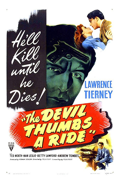 A MORTE MISTERIOSA (The Devil Thumbs a Ride, 1947)