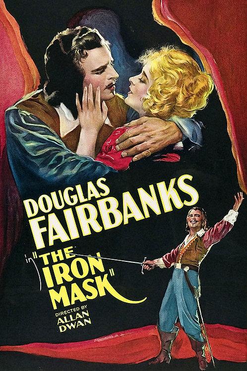 O MÁSCARA DE FERRO (The Iron Mask, 1929)