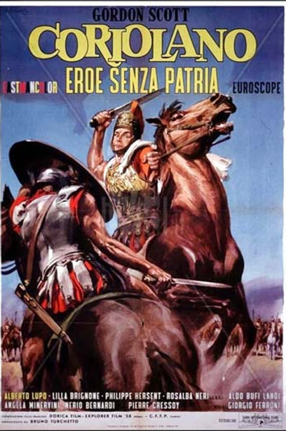 CORIOLANO, O HERÓI SEM PÁTRIA (Coriolano, Eroe Senza Patria, 1964) DVD legendado