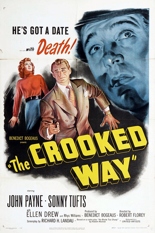 ENCONTRO MARCADO COM A MORTE (The Crooked Way, 1949)