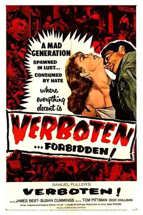 PROIBIDO! (Verboten! 1959) - DVD legendado em português