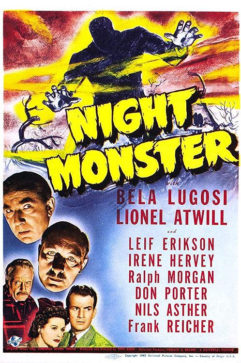 O MONSTRO DA NOITE (Night Monster, 1942)