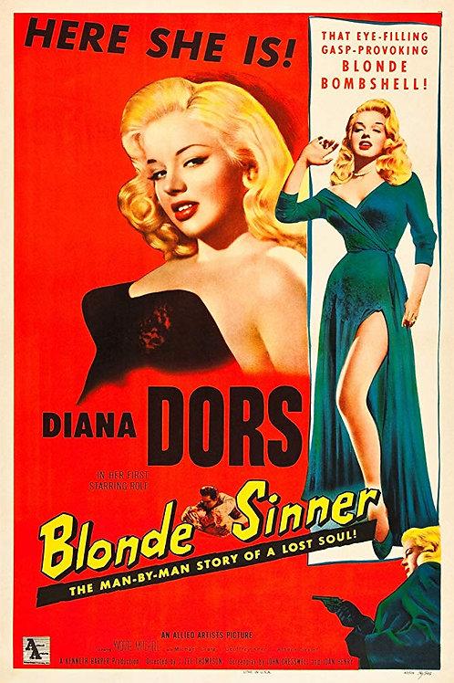 MEU AMOR, MINHA RUÍNA (Blonde Sinner/Yield To The Night, 1956)