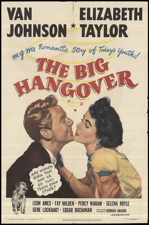 A VERDADE NÃO SE DIZ (The Big Hangover, 1950) DVD legendado em português