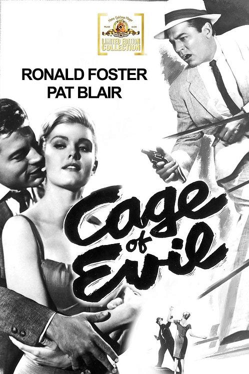A CELA DO MAL (Cage of Evil, 1960)