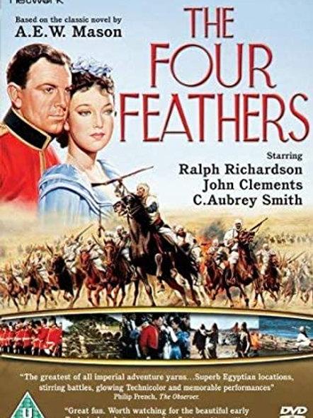 AS QUATRO PENAS BRANCAS (The Four Feathers, 1939)