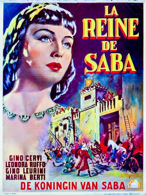 A RAINHA DE SABÁ (La Reina di Sheba, 1952)