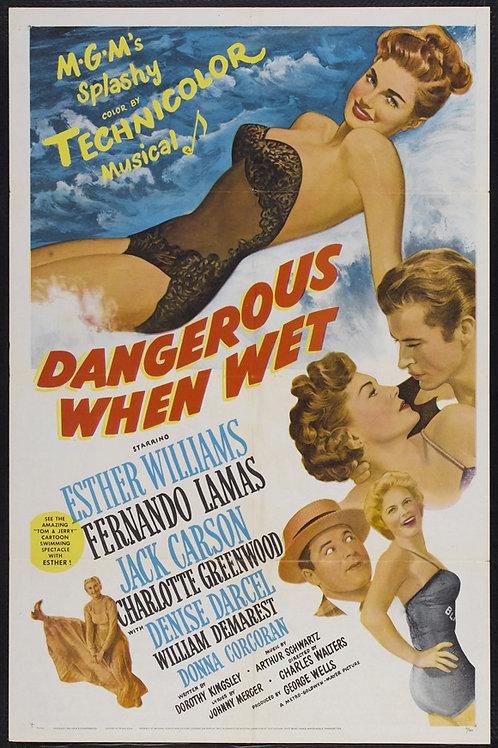 SALVE A CAMPEÃ (Dangerous When Wet, 1953)