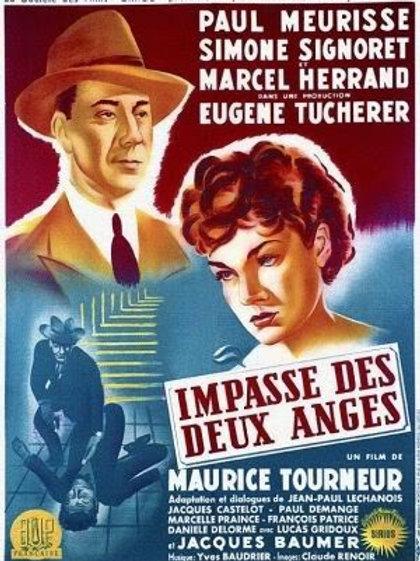 IMPASSE DE DOIS ANJOS (Impasse Des Deux Anges, 1948) - DVD Legendado em portugu
