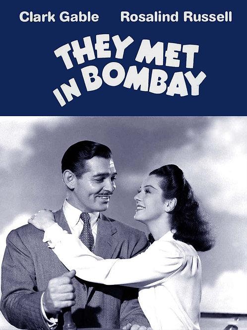AVENTURA NO ORIENTE (They Meet In Bombay, 1941)