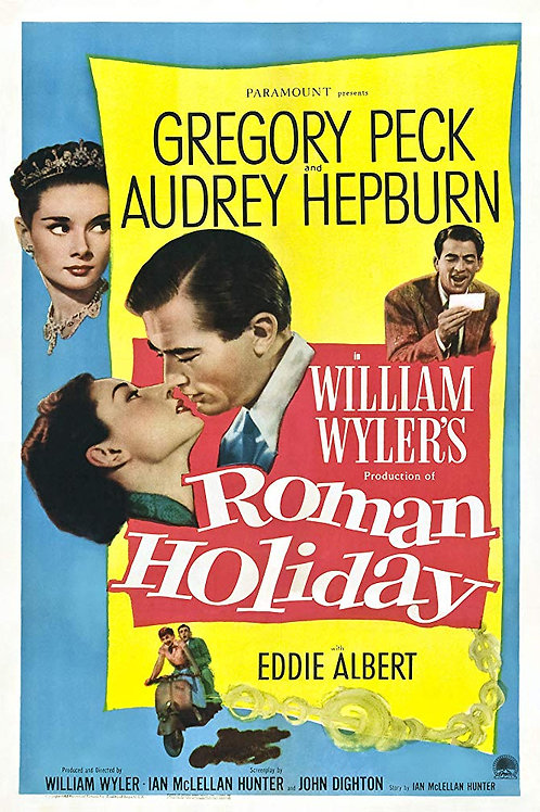 A PRINCESA E O PLEBEU (Roman Holiday, 1953)